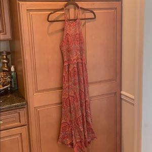 Racer back paisley free people maxi Xs